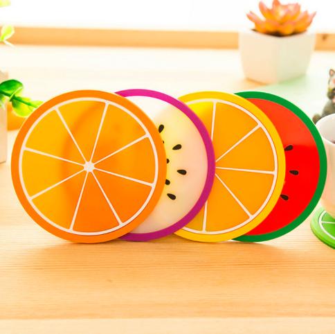 خرید زیر لیوان میوه ای پنج عددی
