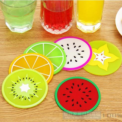 خرید زیر لیوان میوه ای 5 عددی