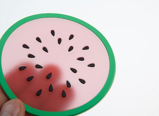 خرید اینترنتی زیر لیوان میوه ای پکی
