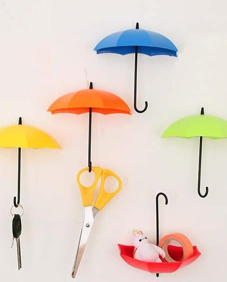 آویز چسبی فانتزی آشپزخانه طرح چتر