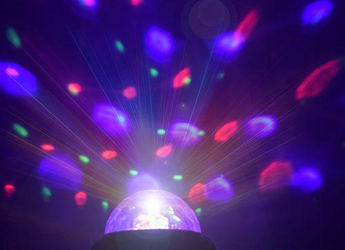 فانوس سه کاره رقص نور دار