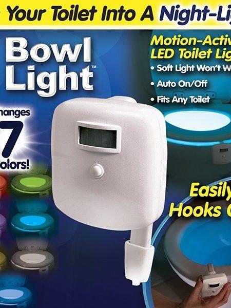 دستگاه نور رنگی توالت فرنگی