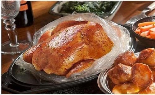 کیسه نسوز پخت مرغ و ماهی Dolphin