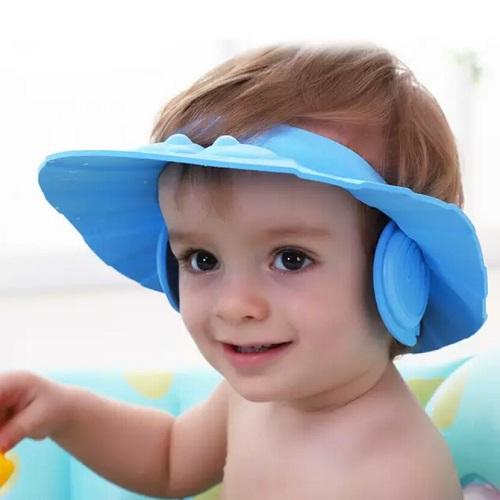 کلاه پلاستیکی مخصوص حمام و اصلاح موی نوزاد