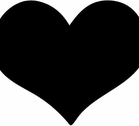 تخته سیاه قلب