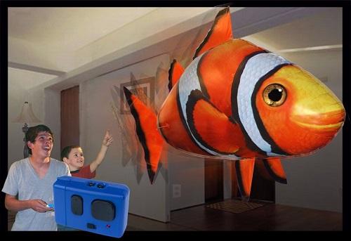 عکس ماهی کنترلی پرنده
