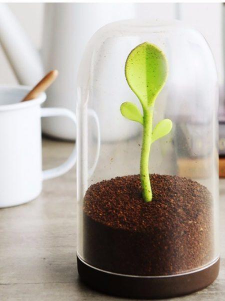 ظرف مخصوص نگهداری چای و پودر قهوه طرح برگ